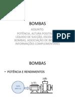 Bombas Aula