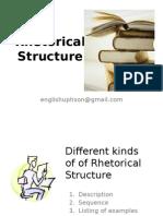 Session 6 Rhetorical Structure