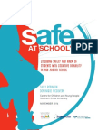 CCYP - Safe at School Research Report