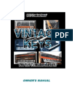 VintageKeysXF Manual