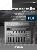 Manual Yamaha Dtxtreme Iis