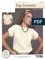 Tee Top Sweater Knit Pattern
