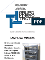 Accesorios GRUPO MINERO TROTTIER