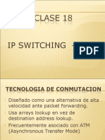 Clase 18 - IP Switching y MPLS