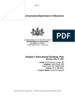 Chapter 4 Educational Strategic Plan