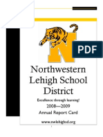 District Report Card 2008-09
