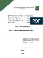 ATPS  Tubulação e Vasos de Pressão - 2° bimestre
