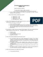 Mock Bar Examination Questions 23