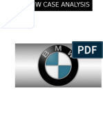BMW ANALYSIS