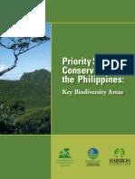 2006ci Philippineskeybiodiversityareabookletforphilippines 110611074658 Phpapp02