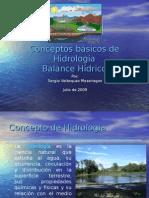 Presentacion Balance Hidrologico