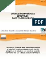 Nuevos materiales Educativos