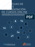Estrategias de Diseño e Implementación de Cursos Online Fundación Evolución Wormhole