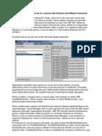 Capturarea de Imagini de La o Camera Web Folosind Java Media Framework