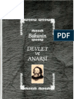Devlet Ve Anarşi - Bakunin