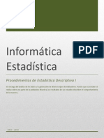 Estadistica Descriptiva I St