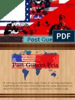 Post Guerra Fría (1941-1960)