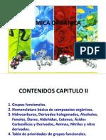 Nomenclatura y Grupos Funcionales 2011