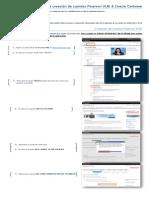 Creación de Cuentas Pearson y Oracle