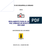Reglamento rsv2000