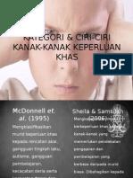 KATEGORI DAN CIRI-CIRI KANAK-KANAK BEKEPERLUAN KHAS.pptx