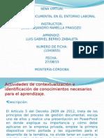 Actividad 3 Legislacion Documental en El Entorno Laboral