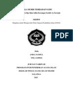 ETIKA MURID TERHADAP GURU (Analisis Kitab Talim Mutaallim Karangan Syaikh Az-Zarnuji)