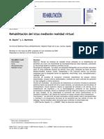 Rehabilitación Del Ictus Mediante Realidad Virtual