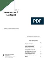 Little Black Book of Investment Secrets