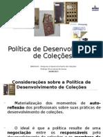 Política de Desenvolvimento de Coleções