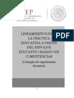 FI-Lineamientos Para La Practica Educativa