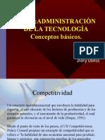 Administración de Tecnologia - Conceptos Basicos (1)