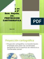 Proyeccion Cartografica