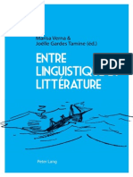 (French Edition) Marisa Verna, Joëlle Gardes Tamine-Entre linguistique et littérature-Peter Lang International Academic Publishers (2013).pdf
