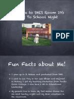 back to school night - pdf