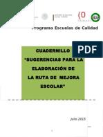 SUGERENCIAS PARA LA ELABORACIÓN DE LA RUTA DE MEJORA.docx