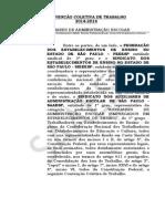 Acordo Coletivo SAAE-PA 2014-2016