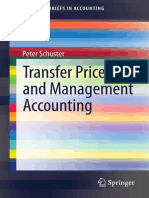 (SpringerBriefs in Accounting) Peter Schuster (Auth.)-Transfer Prices and Management Accounting-Springer International Publishing (2015)