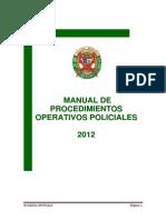 Mapro Procedimientos Operativos 2013