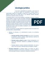 Definición de Psicología Jurídica (2)