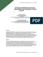Respons Social Empresas Gran Canaria