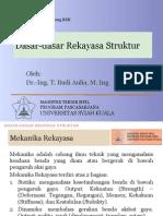 Dasar-dasar Rekayasa Struktur