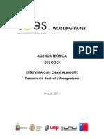 Entrevista Con Chantal Mouffe, Democracia Radical y Antagonismo