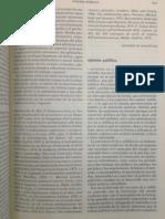 Definición de Opinión Pública Nicola Mateucci Diccionario Norberto Bobbio