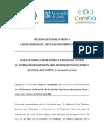 Informe Final PDDH Nicaragua