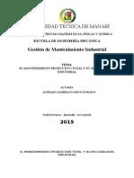 Resumen TPM Aplicado a La Industria
