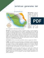 Caracteristicas Generales de Baja California Sur