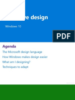 UWP Adaptive Design