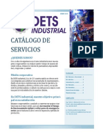 DETS INDUSTRIALCatalogo de Servicios