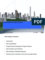 Risk Analysis in Project Finance